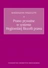Prawo prywatne w systemie Heglowskiej filozofii prawa