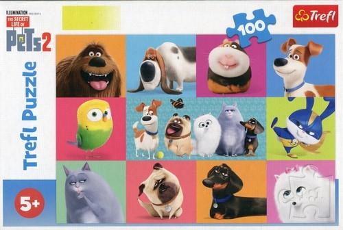 Puzzle 100: Słodkie zwierzątka