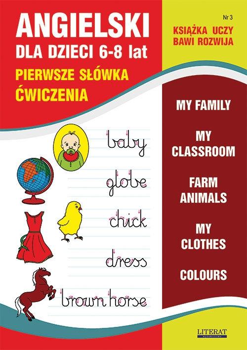 Angielski dla dzieci 3 Pierwsze słówka Ćwiczenia 6-8 lat Bednarska Joanna