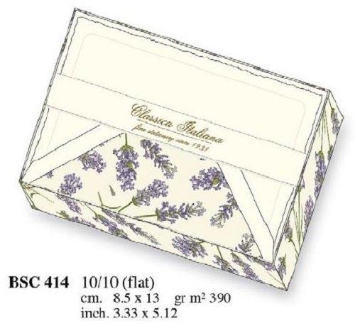 Papeteria box 10 kartek i 10 kopert BSC 414