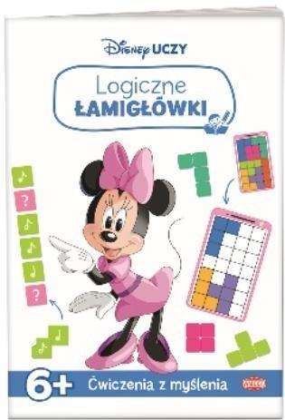 Disney uczy Minnie. Logiczne łamigłówki praca zbiorowa