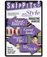 Snippits! Fashion and Style - znaczniki moda i styl