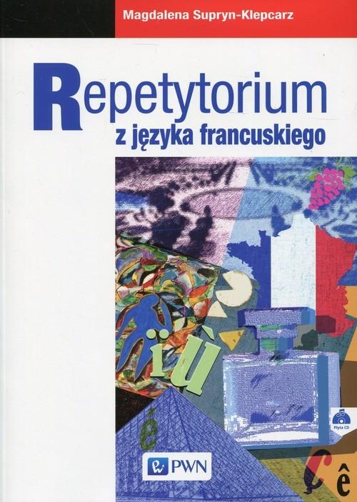 Repetytorium z języka francuskiego z płytą CD Supryn-Klepcarz Magdalena