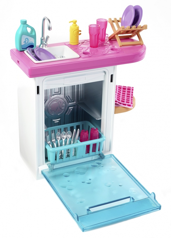Barbie: Mebelki do domku - zmywarka (FXG33/FXG35)