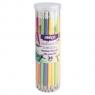 Ołówki pastelowe STRIGO HB z gumką 36 sztuk