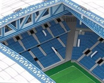 Puzzle 3D: Stadion INEA Poznań
