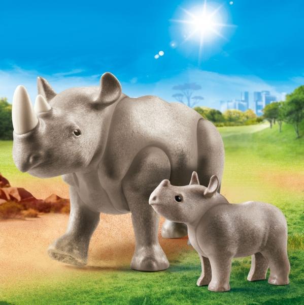 Playmobil Family Fun: Nosorożce (70357)