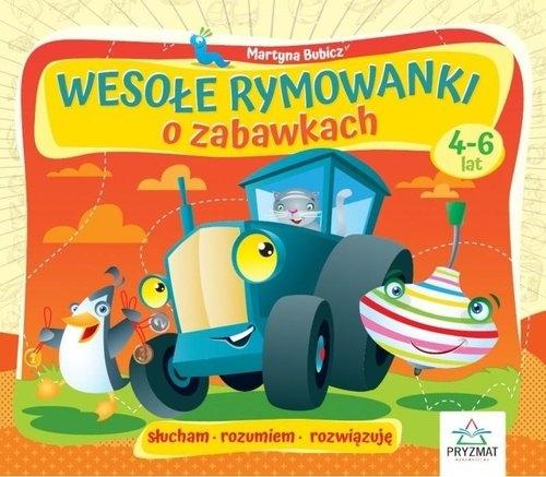 Wesołe rymowanki o zabawkach 4-6 lat Bubicz Martyna