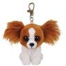 Maskotka brelok Beanie Babies: Barks - brązowy pies (36657)