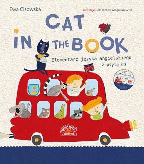 Cat in the book Elementarz języka angielskiego + CD Cisowska Ewa