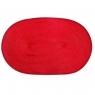 Mata stołowa owalna red 30x45 cm