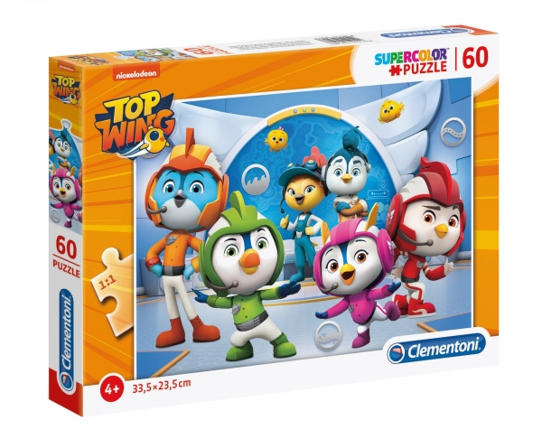 Puzzle SuperColor 60: Top Wing (26057)