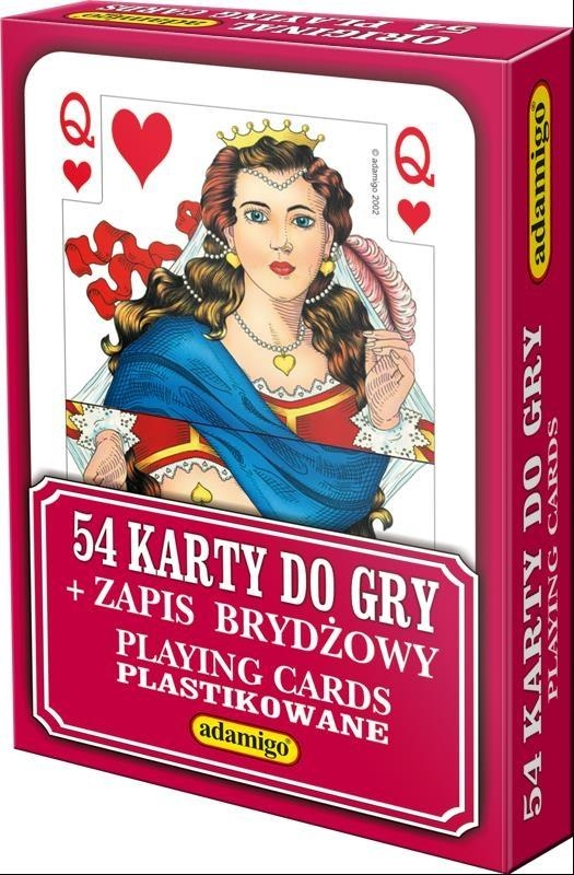 Karty do gry 54 elementy (4577)
