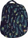 Plecak 4-komorowy Peacock