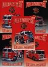 Zeszyt A5 Top-2000 w linie 60 kartek Firefighter mix