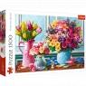 Puzzle 1500: Kwiaty w wazonach (26157)