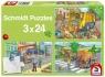 Puzzle 3x24: Pojazdy komunalne