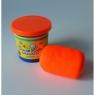 Ciastolina 200g świecąca pomarańczowa