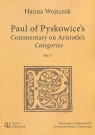 Paul of Pyskowice's Commentary on Aristotle's Categories Part 1 Wojtczak Hanna