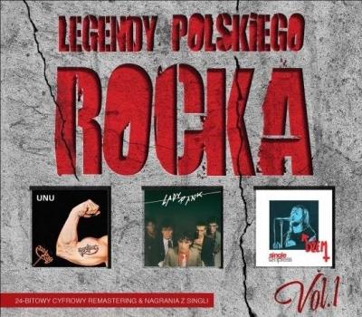 Legendy Polskiego Rocka vol.1 (3CD) praca zbiorowa