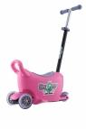 Jeździk SNOOP! 3w1 Pink (3579)