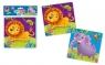 Piankowe puzzle 2w1. Zoo