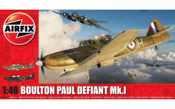Model do sklejania Boulton Paul Defiant Mk.1 (05128A)