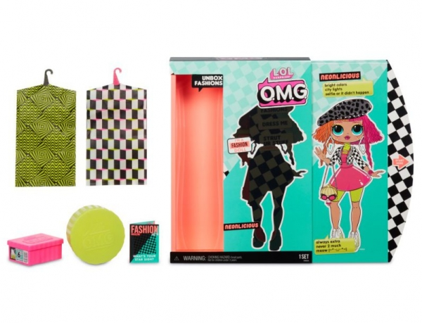 L.O.L. Surprise O.M.G. - lalka Neon Q.T. (559788/560579)
