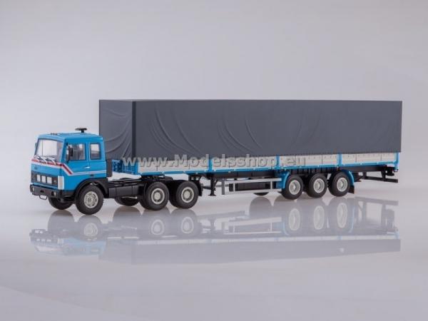 MAZ-6422 Tractor Truck with MAZ-9758 Semitrailer (AI7023)