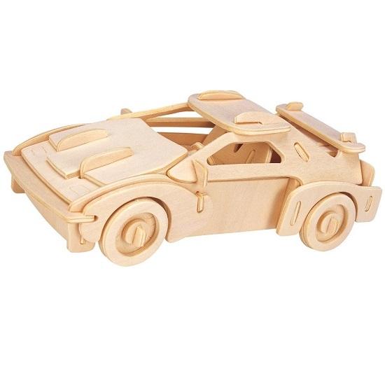 Łamigłówka drewniana Gepetto - Samochód rajdowy (106143)