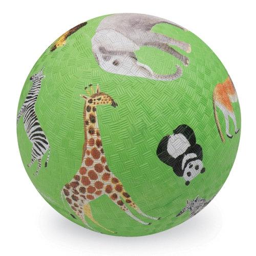 Piłka 18cm wzór Dzikie zwierzęta