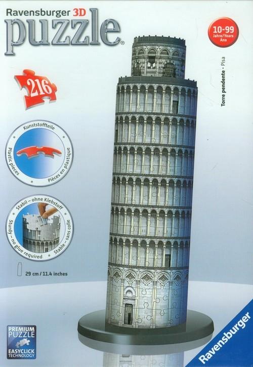 Puzzle 3D 216 Krzywa Wieża w Pizie (125579)
