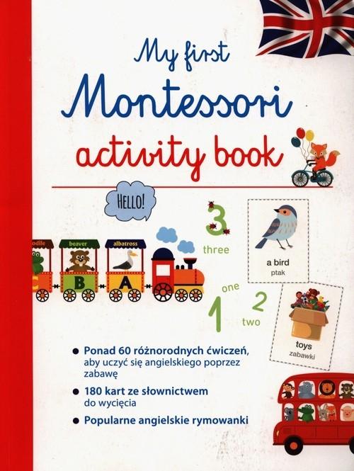My first Montessori activity book Barusseau Lydie