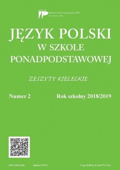 Język Polski w szkole ponadpodst. nr 2 2018/2019 praca zbiorowa