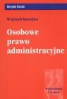 Osobowe prawo administracyjne Maciejko Wojciech