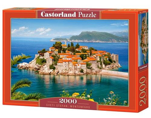 Puzzle Sveti Stefan Montenegro 2000 elementów