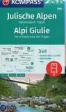 Alpy Julijskie mapa turystyczna