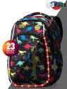 Cooplack - Strike S - Plecak Młodzieżowy  - Led Dinosaurs
