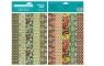 Papiery ozdobne India mix - 10 motywów 20x29 cm 10 arkuszy
