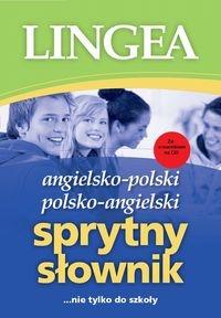Angielsko-polski polsko-angielski Sprytny słownik z płytą CD. nie tylko do szkoly - książka