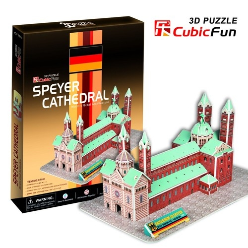 Puzzle 3D Speyer Cathedral (C710H)