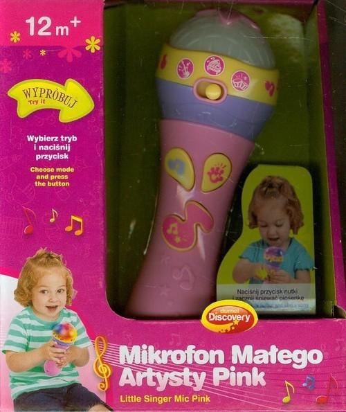 Mikrofon Małego Artysty PINK