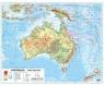 Australia 1:12 100 000 mapa pol. i fiz. ścienna praca zbiorowa