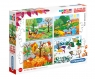 Puzzle progresywne SuperColor 20+60+100+180: Four Seasons (21408) Wiek: 3+