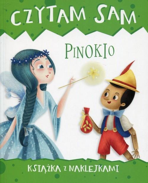 Czytam sam Pinokio Książka z naklejkami Zilio Roberta