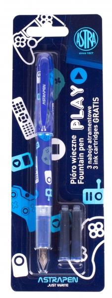 Pióro młodzieżowe Play - 1 szt. + 3 naboje (203120010)