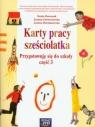 Karty pracy sześciolatka Przygotowuję się do szkoły część 3 Doroszuk Stenia, Gawryszewska Joanna, Hermanowska Joanna