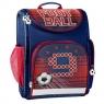 Tornister szkolny Paso Football granatowo-czerwony