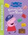 Świnka Peppa Wielka Księga Bajek Kolorowe listy świnki Peppy