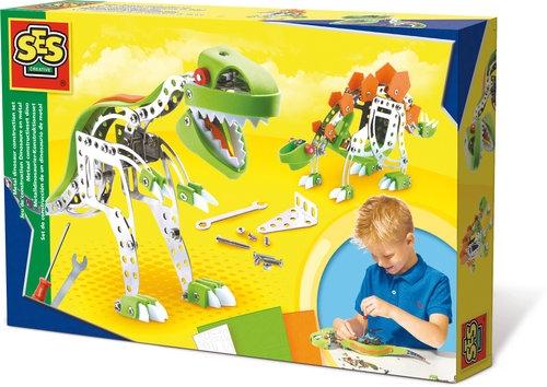 Zbuduj dinozaura - zestaw MECTEC